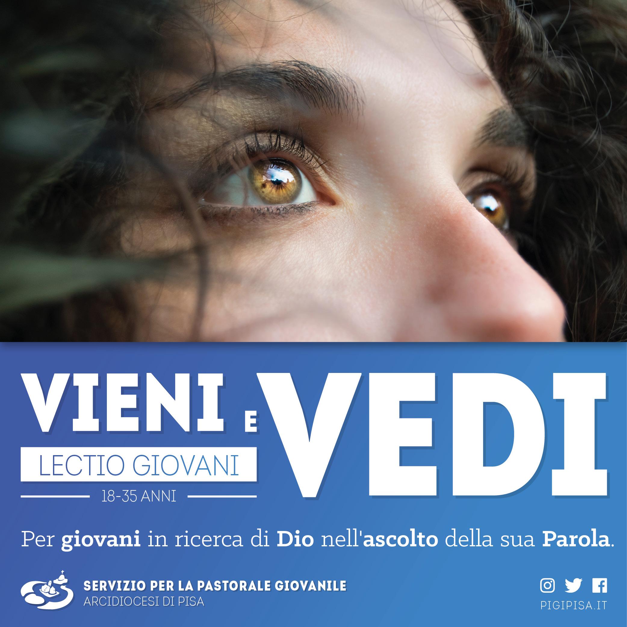 Lectio Giovani 2018